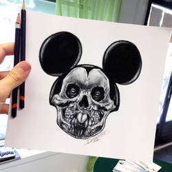 Quick Mickey Sketch