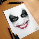 Harley Quinn Pencil Drawing