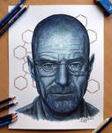 Walter White Pencil Drawing