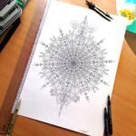 Symmetry pen outline