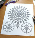 Line Pen Drawing