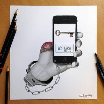 ``Self imposed limitations`` Pencil Drawing