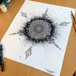 Mandala + Splatter