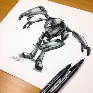 Quick Robot Sketch
