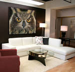 Large Owl Painting for Sale!