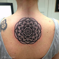 Mandala Tattoo by AtomiccircuS