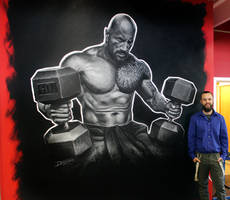 The Rock Wall Painting