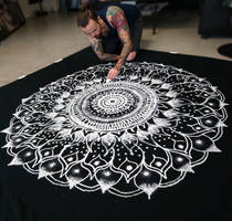 Large Salt Mandala