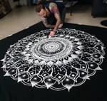 Large Salt Mandala