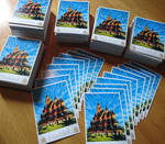 1000 post cards of my painting =D
