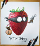 Straw-Robbery Drawing