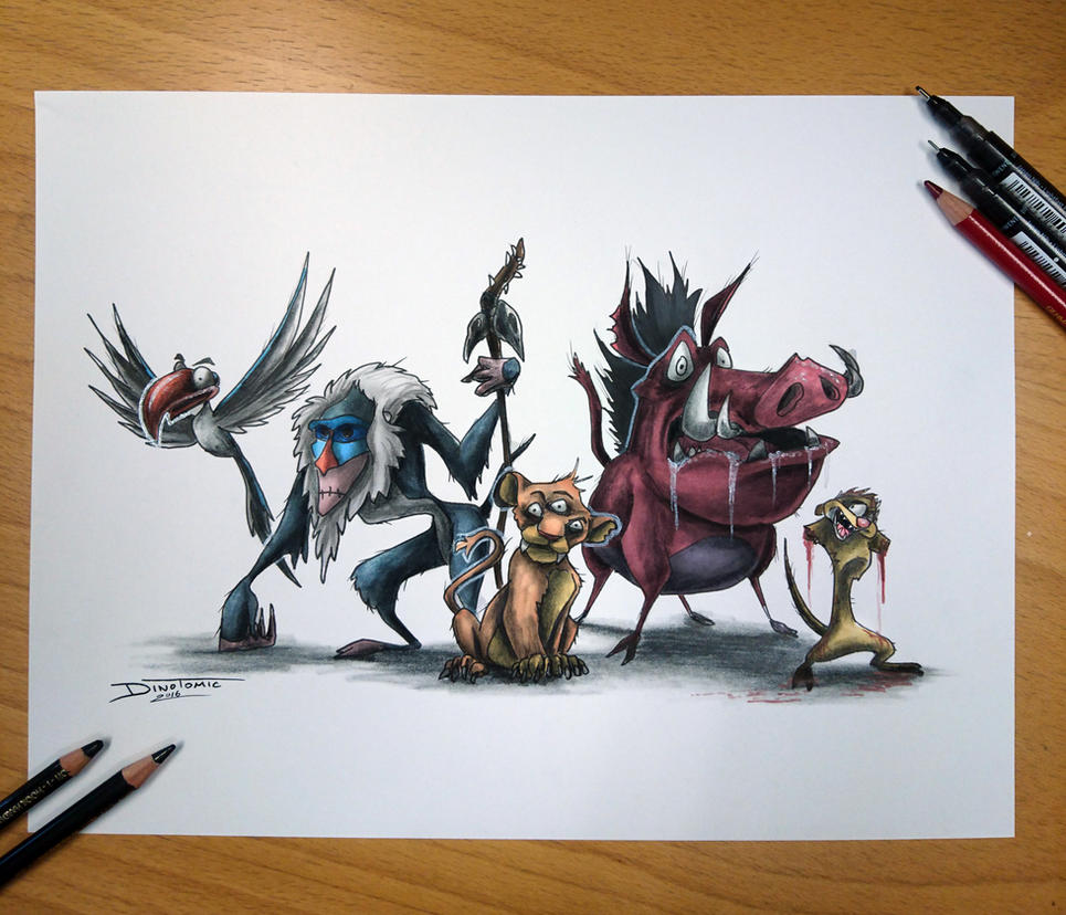 Hakuna Matha Facka by AtomiccircuS on DeviantArt