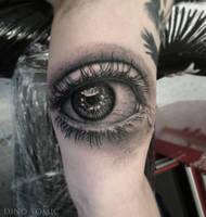 Eye Tattoo by AtomiccircuS
