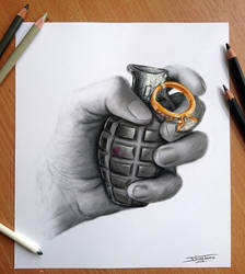 Relationship Pencil Drawing