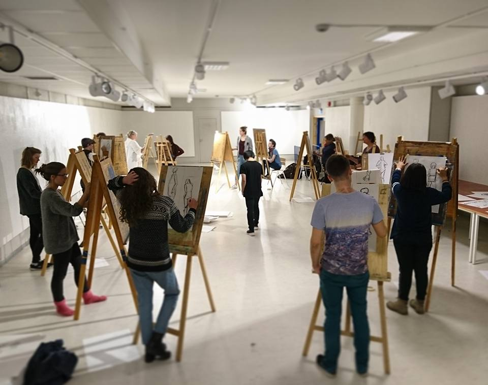 My drawing class this year :) by AtomiccircuS