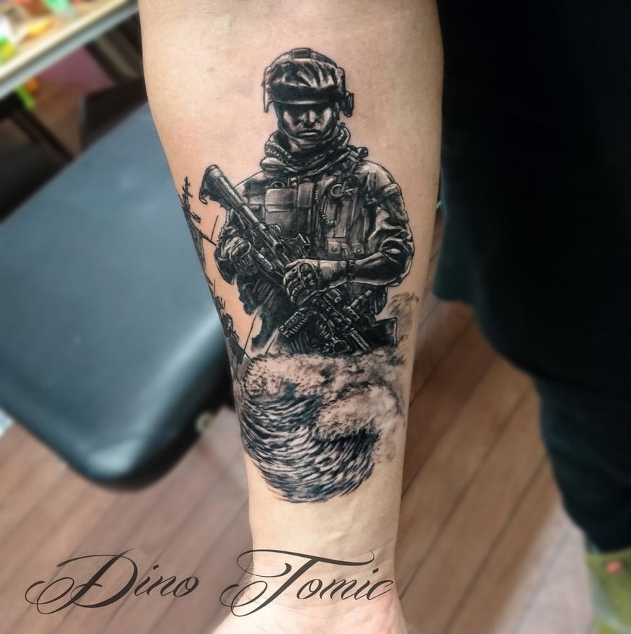Australian War Tattoo Designs