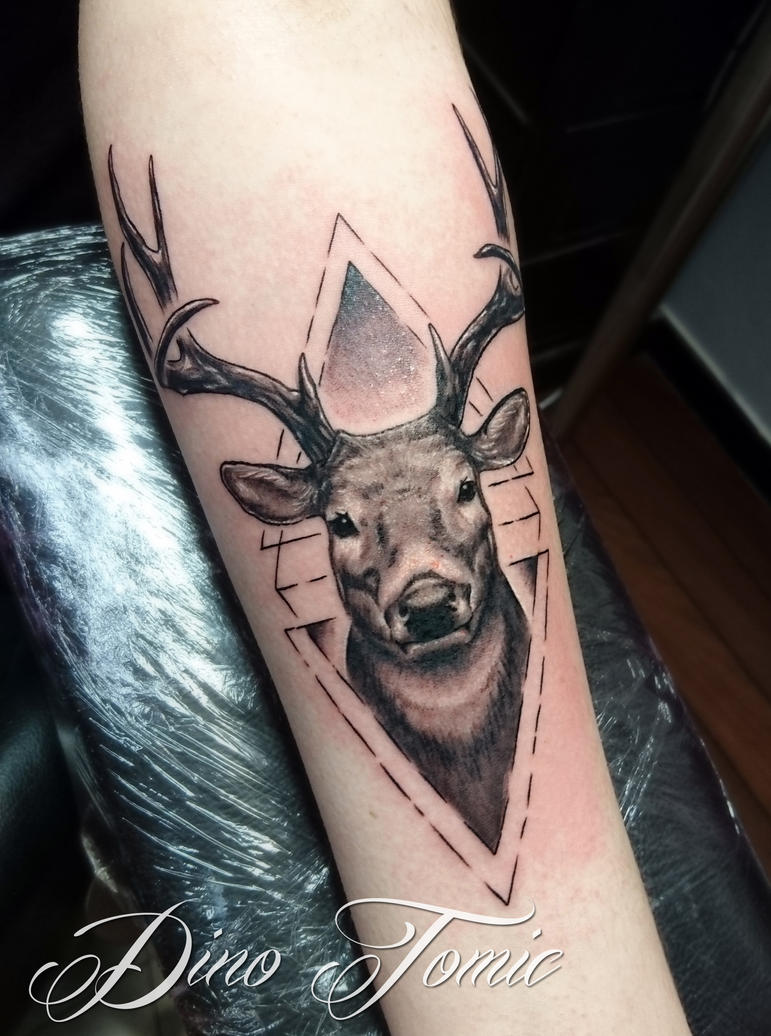 Tattoo i did yesterday in Namsos by AtomiccircuS
