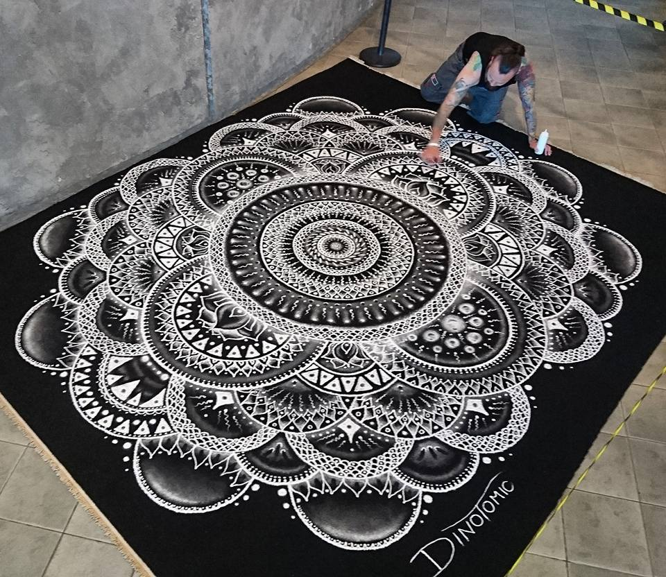 Salt Mandala by AtomiccircuS