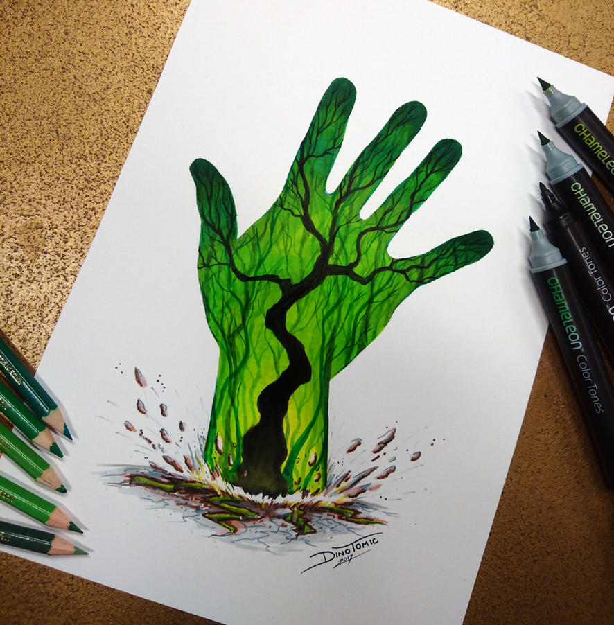 mother nature drawings