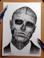 Such sad news! Zombie boy is no longer with us.