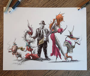 Roger rabbit PRINTS ( and many more )