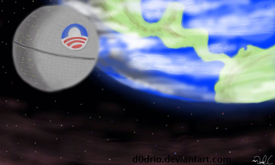 Obama's Debt Star by D0drio