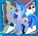 My little pony - Octavia and Vinyl (COLLAB)