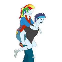 My little pony  Rainbow and Soarin