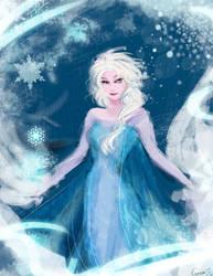 Frozen Elsa by nanamice