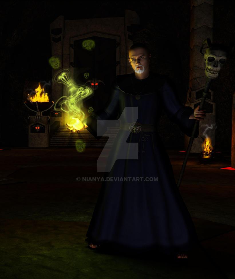 EQ Human Necromancer by Nianya