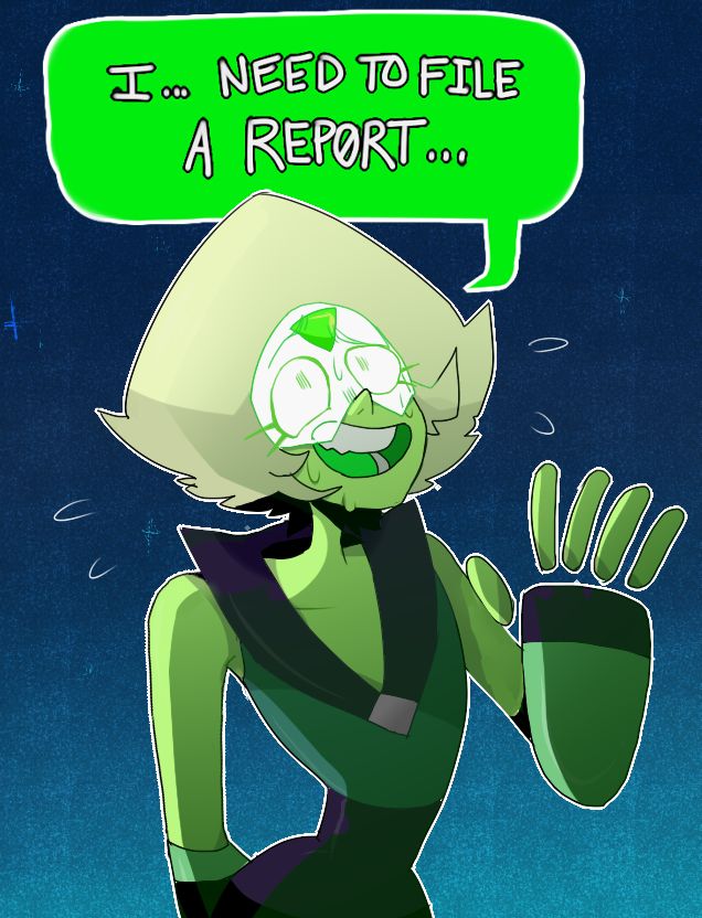 god i drew this a few weeks ago hi i just need to pile things here i guess. im also married to peridot