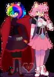 Com. Breya and Amy