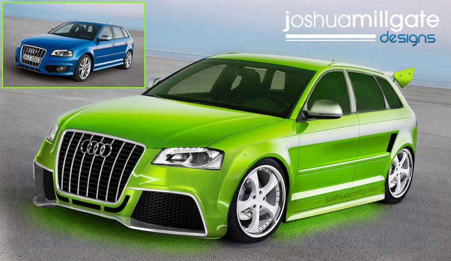 Custom Audi A3 By Jm-gfxdesign On DeviantArt