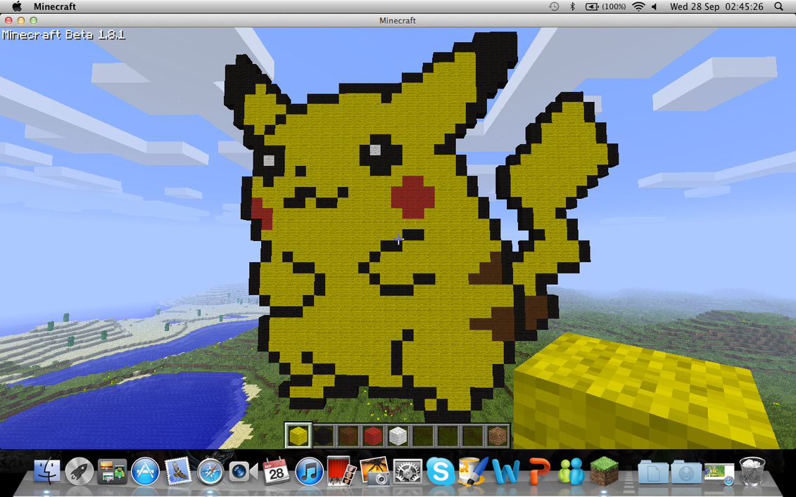 Pokemon gary minecraft skin