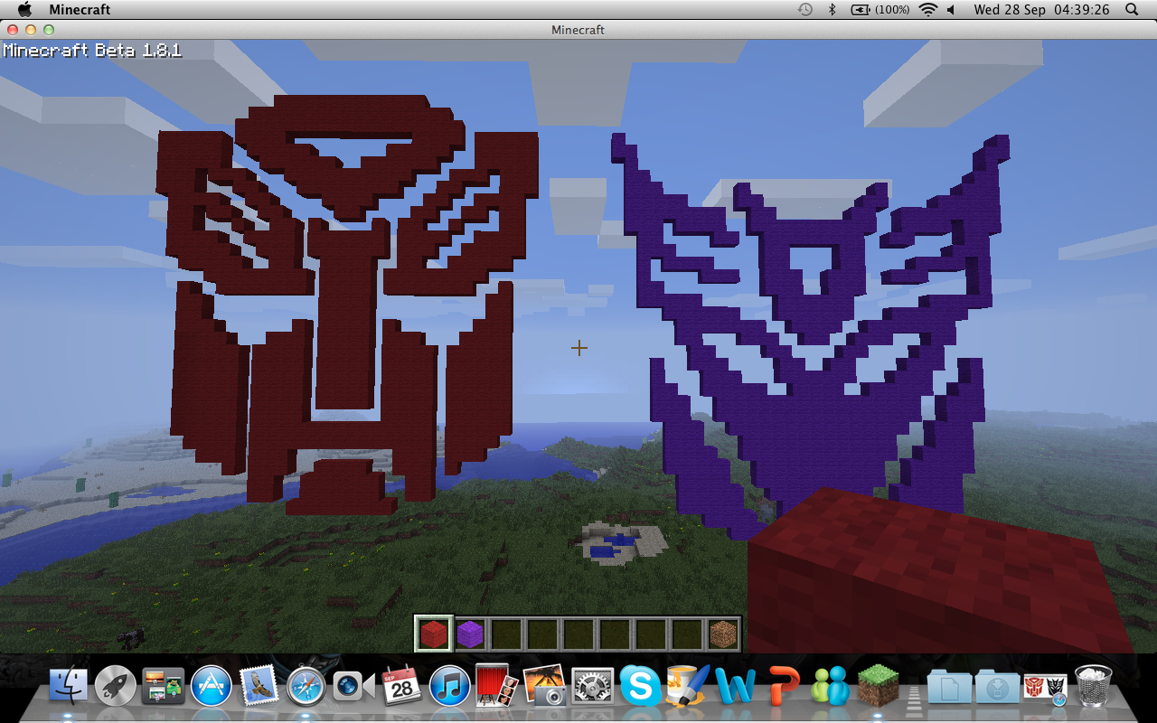 Minecraft Transformers Symbols By Jamesc97 On Deviantart