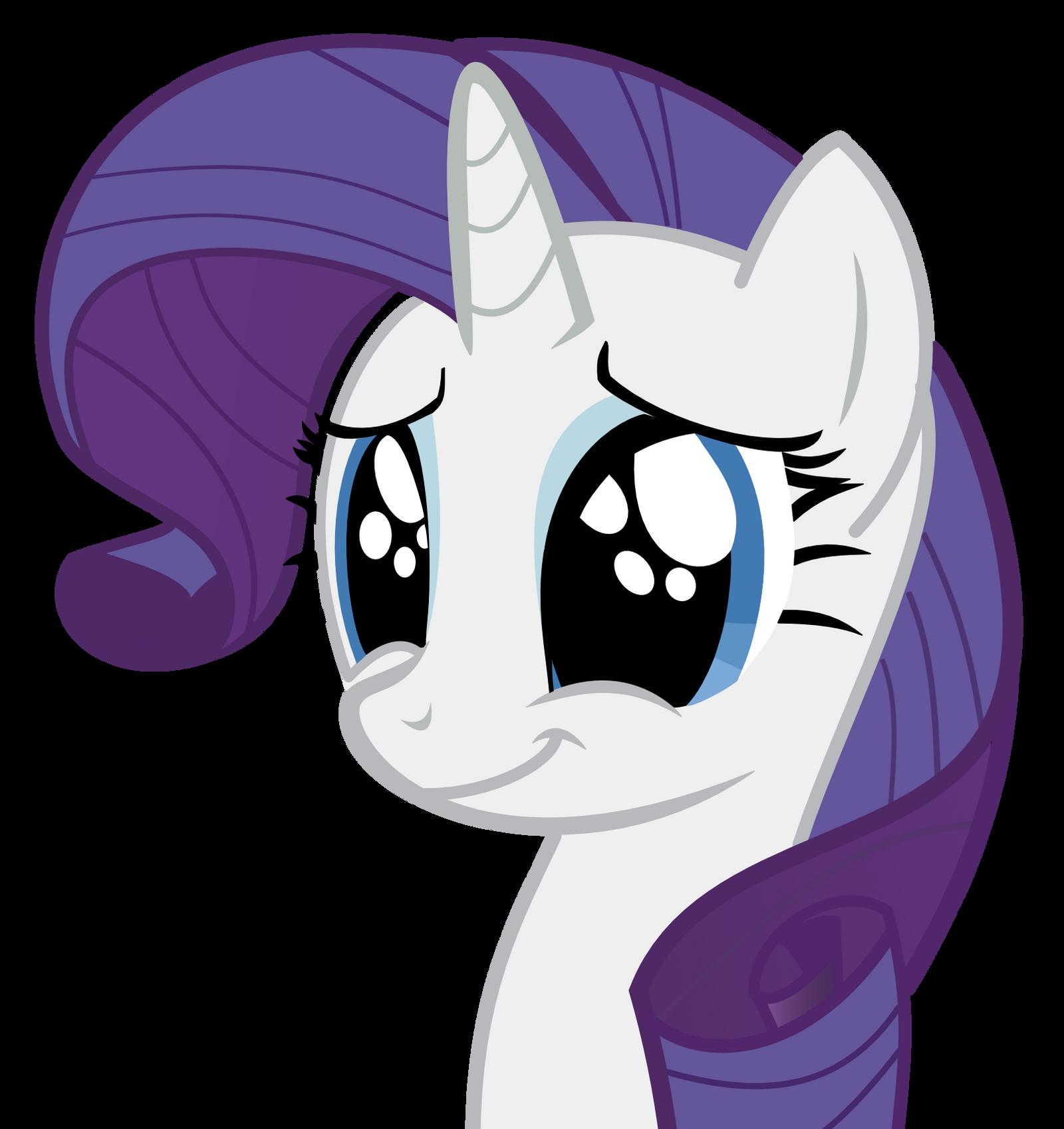 Rarity - cute face by Icefox589 - 376.7KB