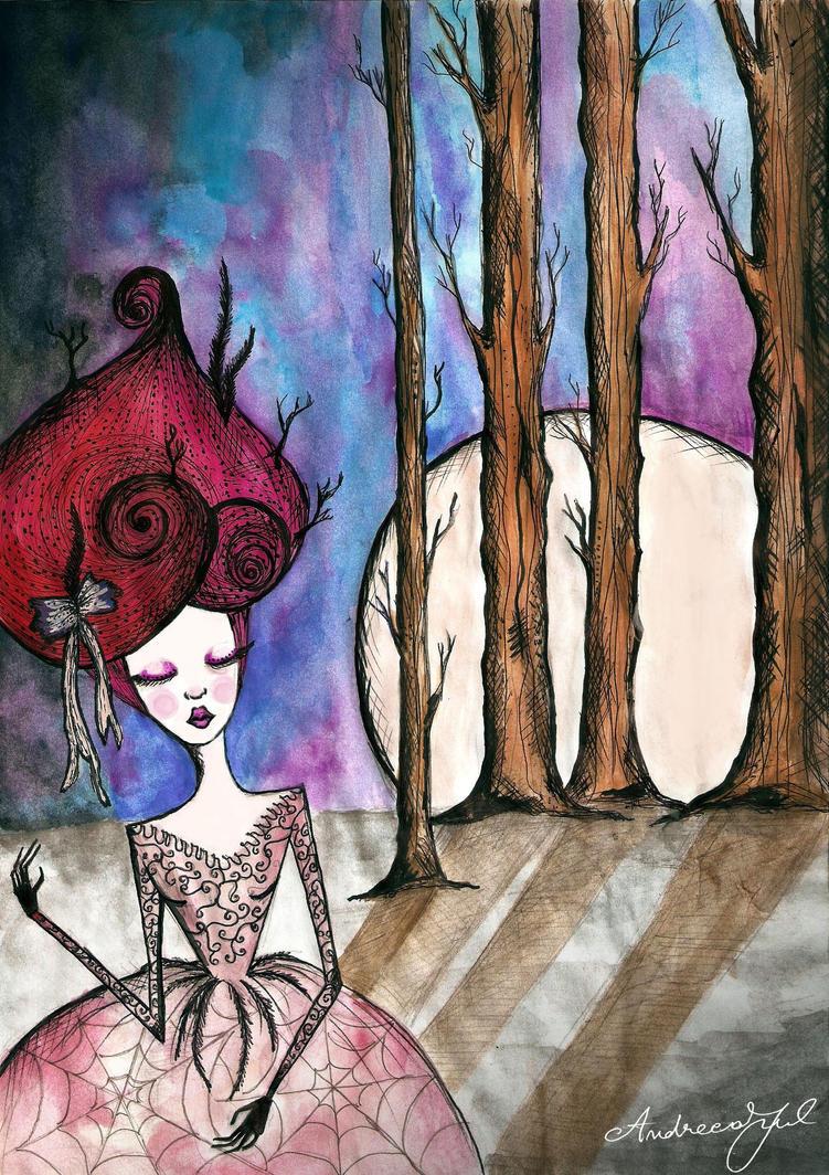 Moonhead by AndreeaIuliana