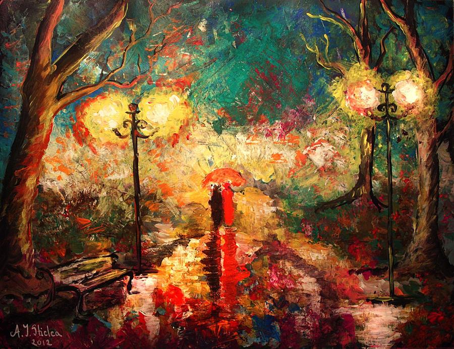 Red rain by AndreeaIuliana