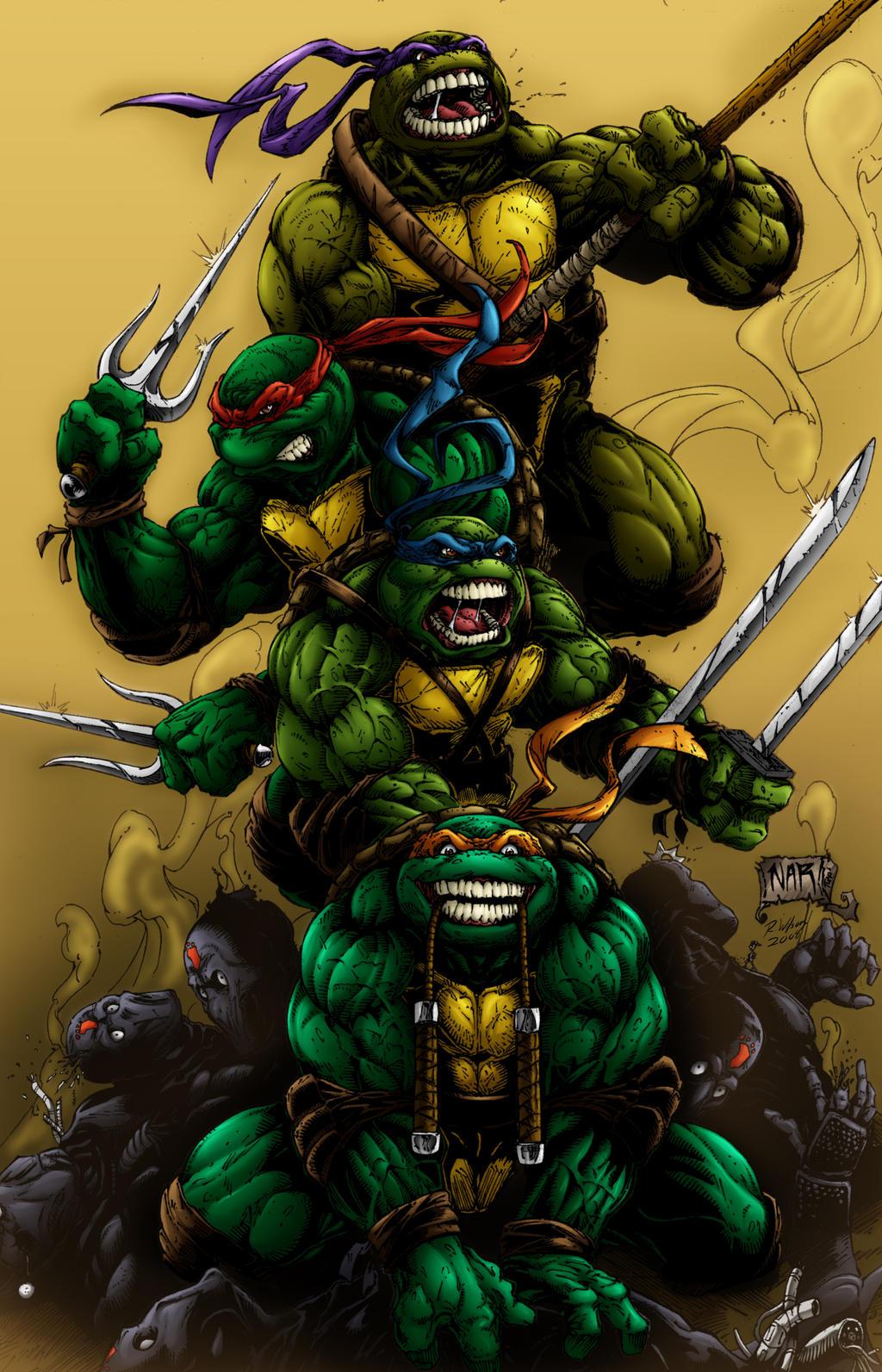 Ninja Turtles by rkw0021