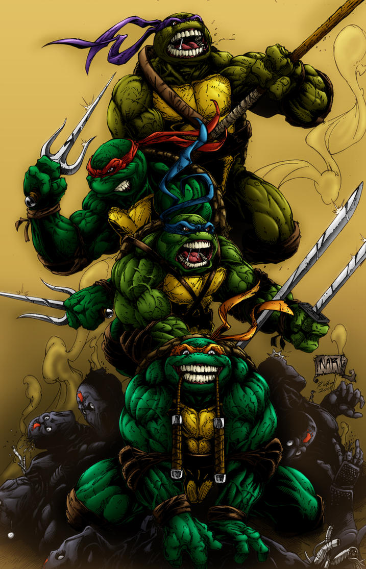 Ninja Turtles by rkw0021