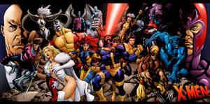 X-Men Team Pin-up