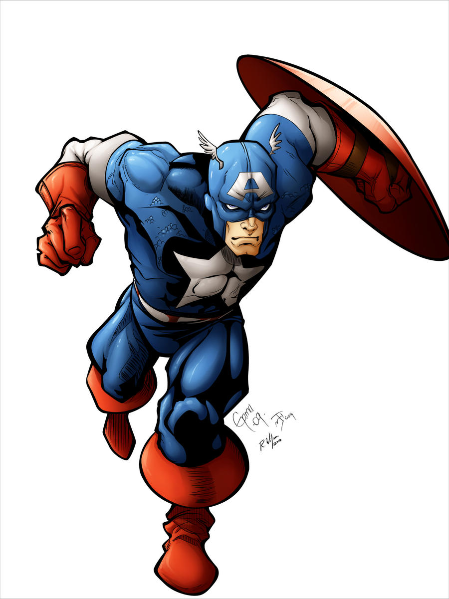 captain america colors by rkw0021 on deviantart