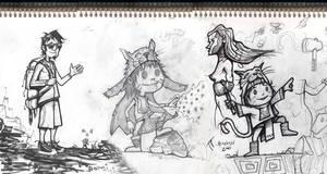 dibujo a tinta by Bonadesign