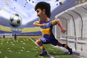 Blandi el goleador inesperado by Bonadesign