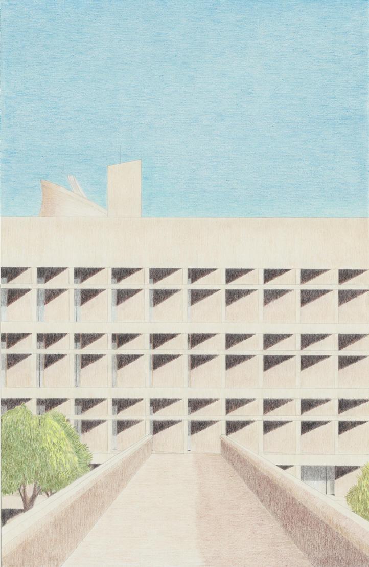 Chandigarh-Corbusier by VISIONOFTHEWORLD