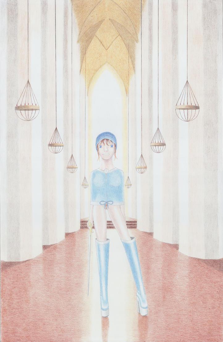 Hot Princess in the Palace by VISIONOFTHEWORLD