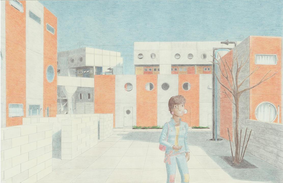 Daydreaming in Runcorn by VISIONOFTHEWORLD