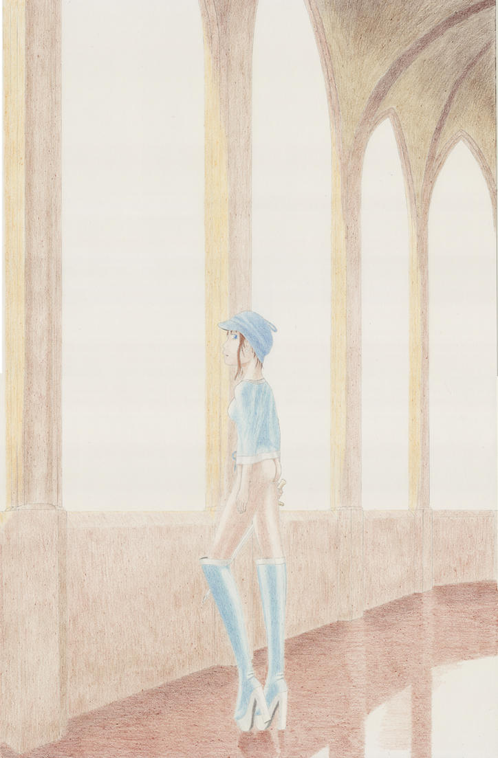 Princess Dreaming of Adventure by VISIONOFTHEWORLD
