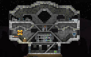 Starbound Build: The Outpost by Gindew