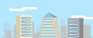 Pixel City Scape